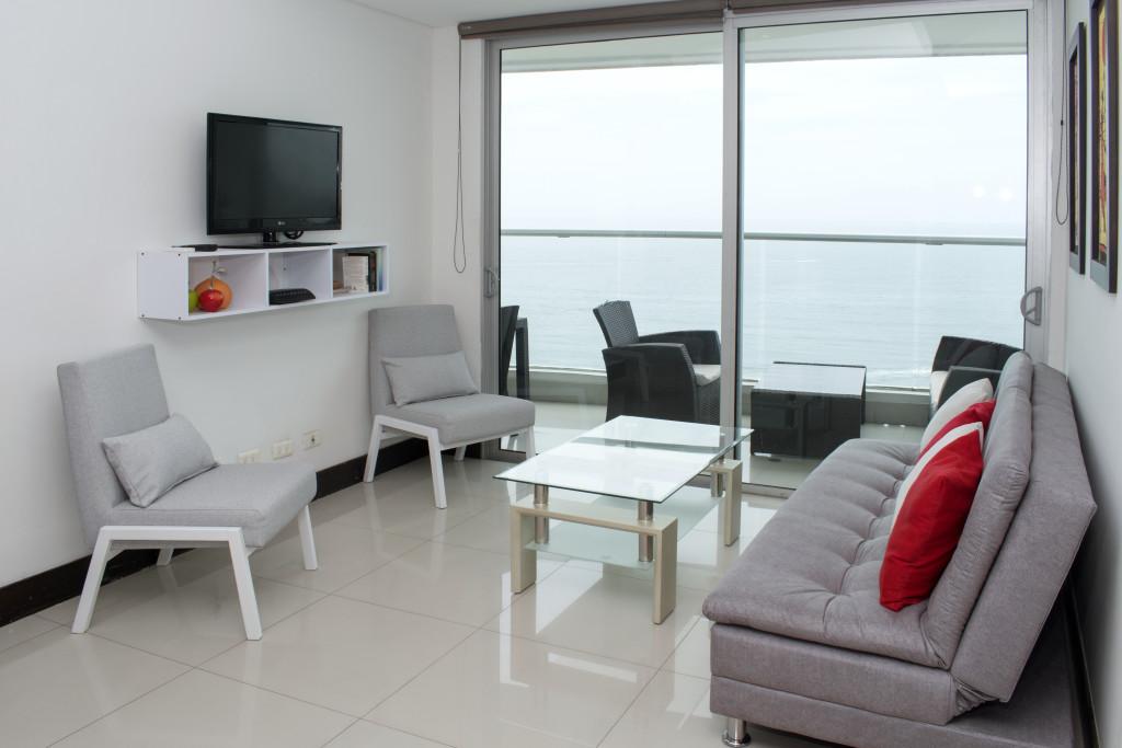 Modern Oceanfront 2 Bedroom Condo - Bocagrande